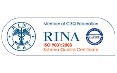 Certificazioni Rina ISO 9001